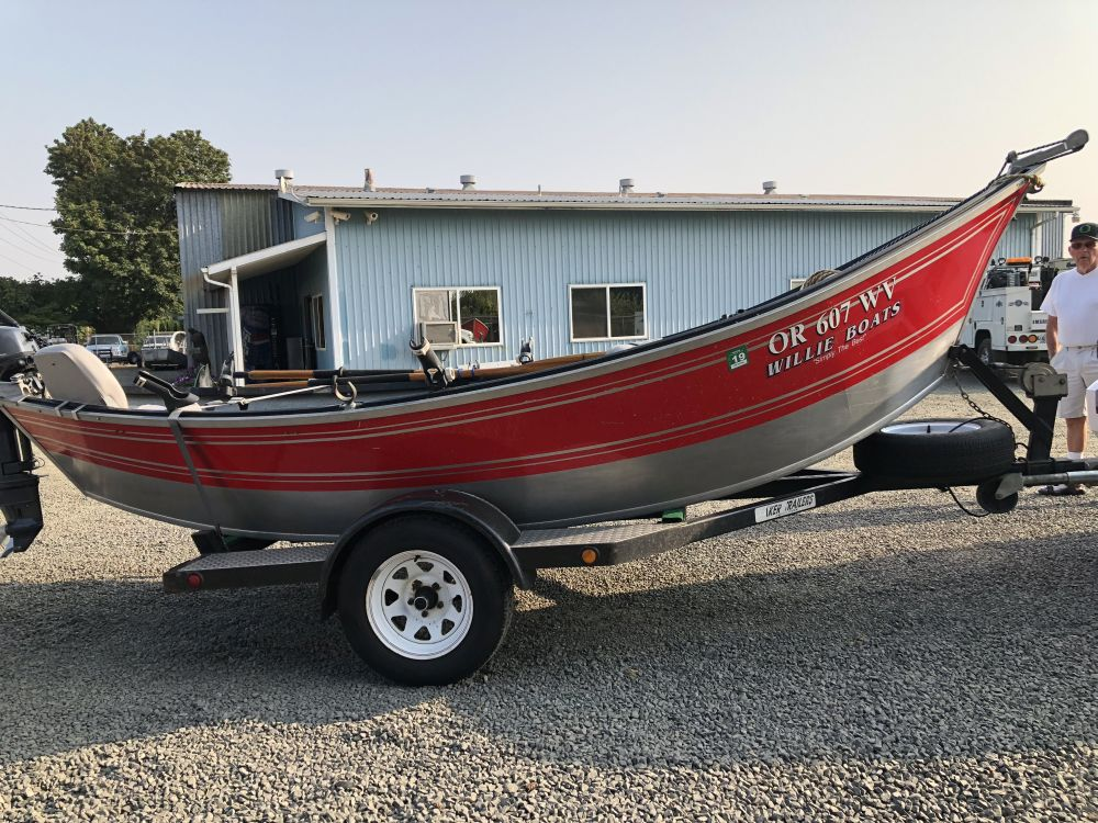 1997 Used 16 X 54 Willie Drift Boat Koffler Boats